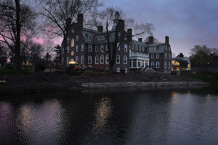 An internal investigation initiated by Choate Rosemary Hall in Connecticut found that 12 of its former faculty members had engaged in sexual misconduct with students dating back nearly 60 years.