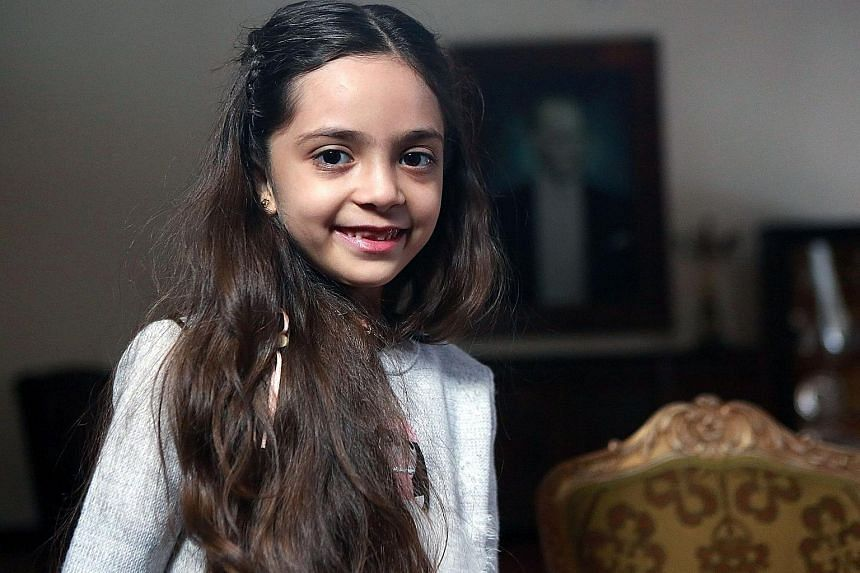 Bana al-Abed - whose book, Dear World, will be published in the autumnl - has said she is happy to have this chance to tell her story of what has happened in Aleppo to the world.