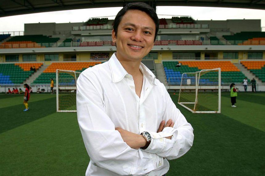 Football Association of Singapore general secretary Winston Lee.