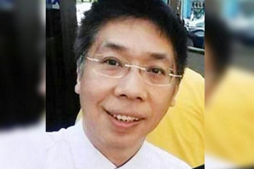 Mr Peter Chong (pictured) claimed he was abducted when he went to Hat Yai in Thailand to investigate the disappearance of Malaysian pastor Raymond Koh.