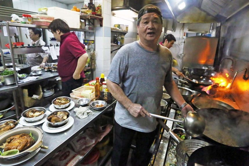 Mr Chen Daying, 62, personally cooked for customers in the last days of Swa Garden Teochew Restaurant's operation. The 18-year-old restaurant closed on Sunday (April 16).
