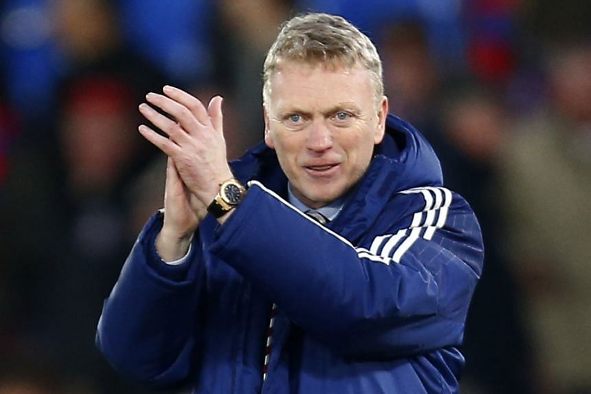 """I just remember to myself that I think I have got the third- or fourth-best win record in the Premier League,"" said Sunderland manager David Moyes."