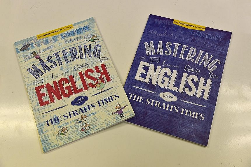 ST Press' first assessment books - Mastering English, aimed at upper-primary and secondary school levels - have proved a hit, having sold around half of their 10,000-volume print run since their launch in February.
