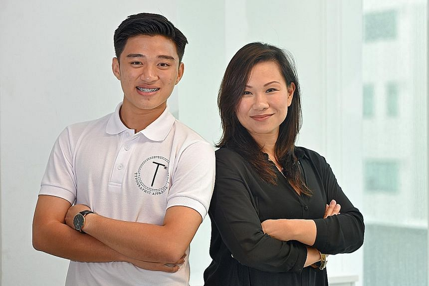 As part of the programme, Mr Xavier Tan was paired with a mentor, Ms Ming Yow, a senior executive at a telecoms firm. The insights she offered enabled him to work out new possibilities after rethinking the feasibility of his original business plan. H