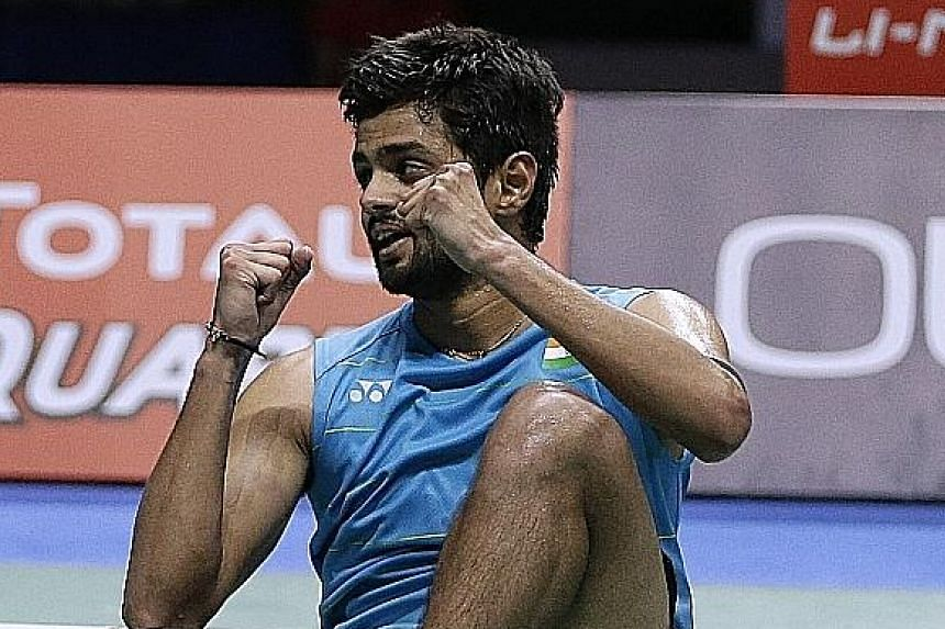 B. Sai Praneeth has enjoyed scalps of leading players but the Singapore Open is his first big tournament win.