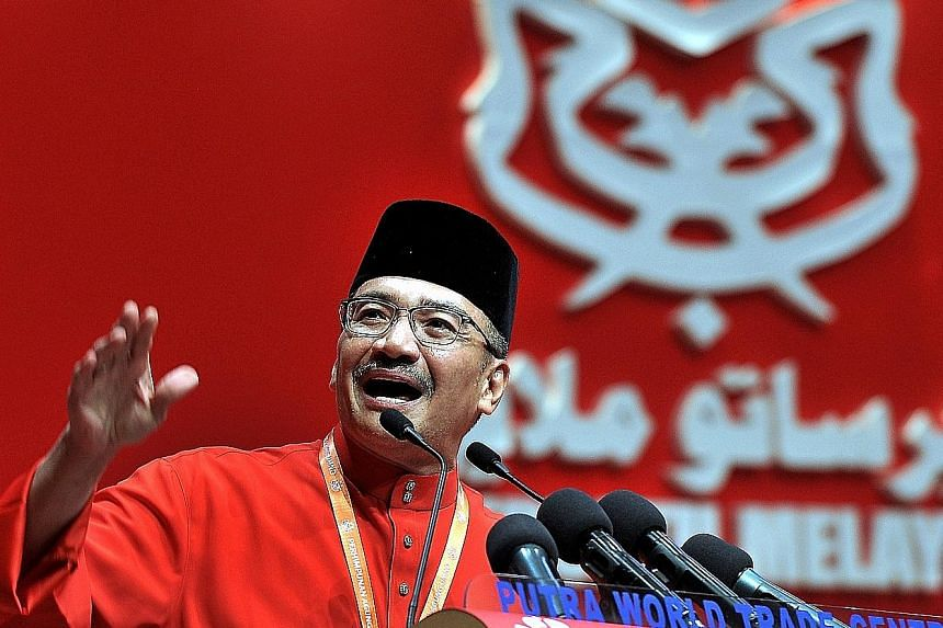 Amid murmurs of tensions between Mr Hishammuddin Hussein (above) and Deputy Prime Minister Ahmad Zahid Hamidi - which Prime Minister Najib Razak has been quick to deny - Mr Hishammuddin is now seen as a challenger for Malaysia's top job after Mr Naji