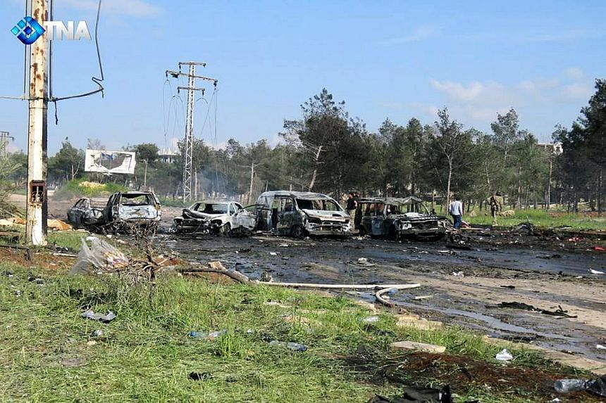 At least 126 people were killed after a pick-up truck blew up among vehicles carrying refugees from the Syrian towns of Fuaa and Kafraya on Saturday. No one has claimed responsibility for the attack.