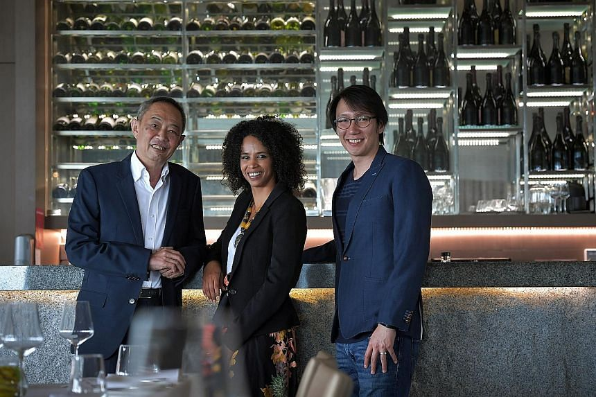 (From left) SNBA president Dennis Foo, EuroCham executive director Lina Baechtiger and Timbre Group managing director and SNBA vice-president Edward Chia. An MOU to form the Singapore Alliance for Responsible Drinking will be inked within a few month