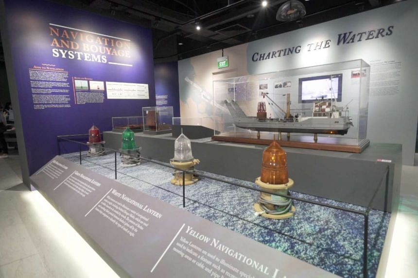The 1,000 sq m gallery tells the story of Singapore's transformation from a small trading post into a global hub port and international maritime centre.