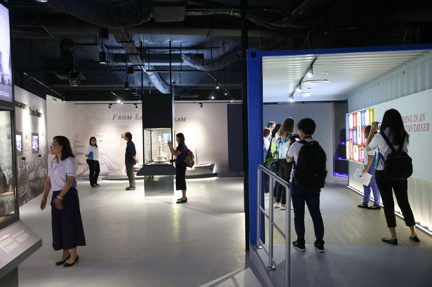 The gallery's contents have been updated in the revamp to reflect developments in the sector.