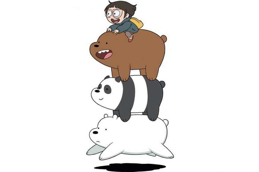 Mr Daniel Chong taps his own experience as an Asian-American in the US for We Bare Bears, which is centred on three bear siblings trying to assimilate into society.