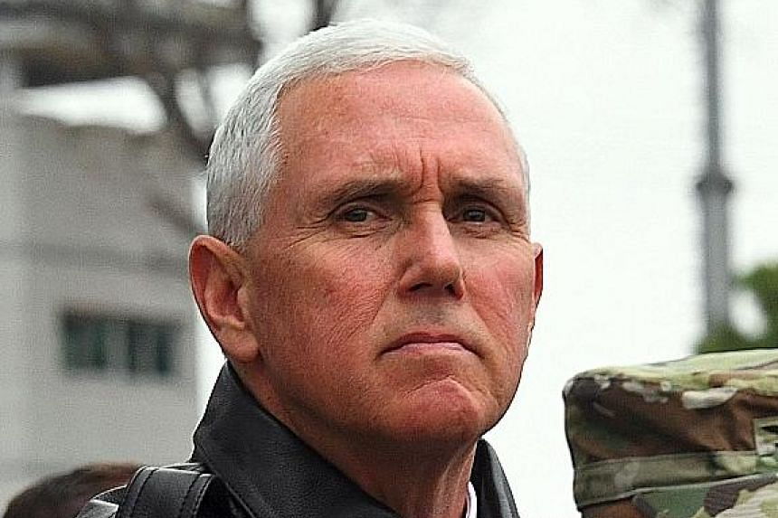 United States Vice-President Mike Pence.