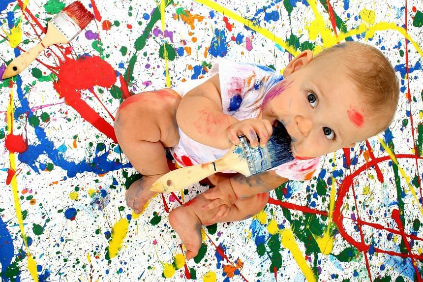 When teething babies chew on things, the germs that cause diarrhoea can enter the body.