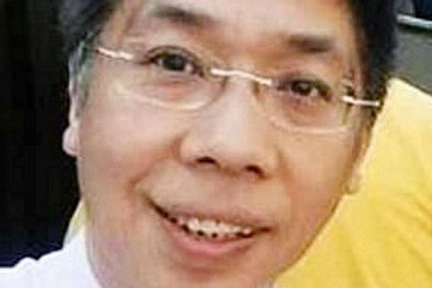 Mr Peter Chong.