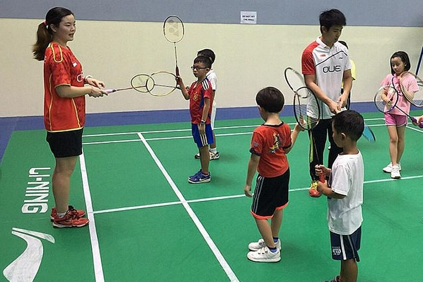 The SBA will be partnering ActiveSG to expand its academy. There will be six centres at the launch in June.