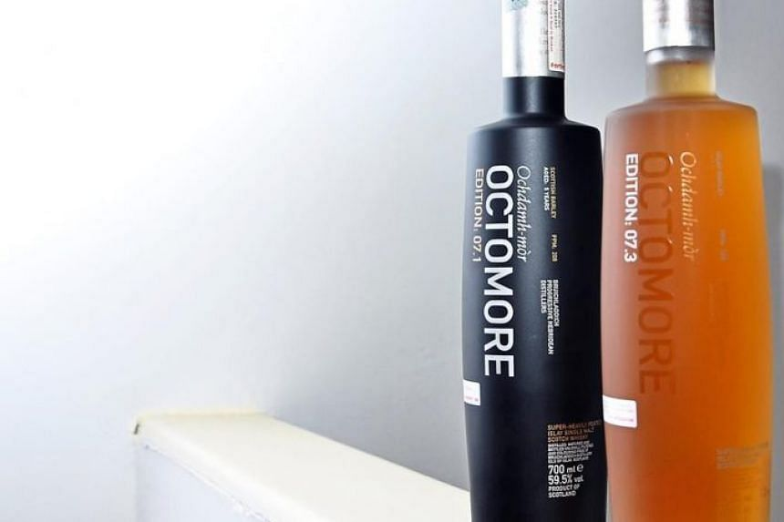 Bruichladdich's Octomore expressions are among the world's most heavily peated whiskies.