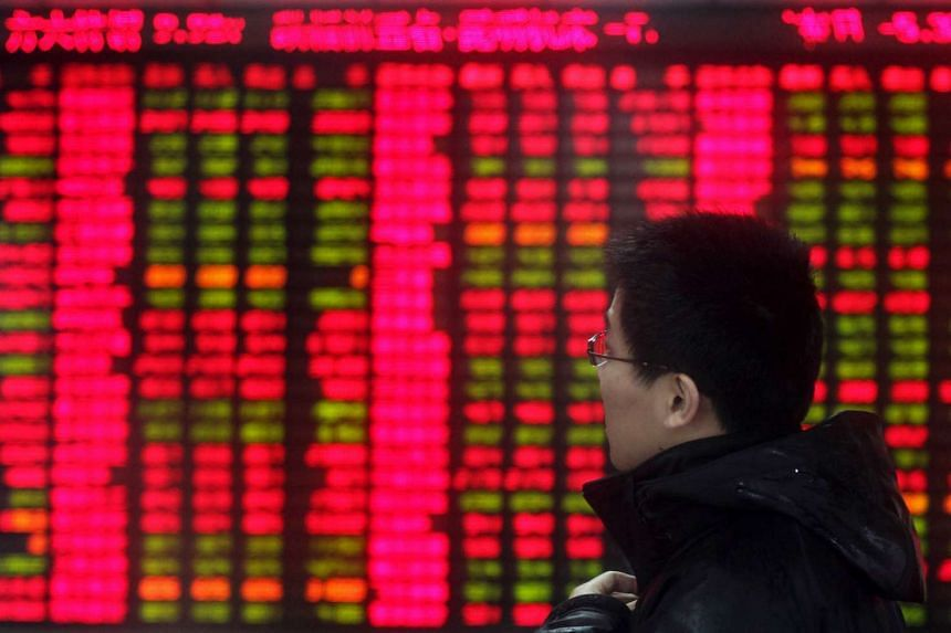 The Shanghai Composite Index has lost 3.3 per cent in a four-day slump, the steepest such decline since mid-December.