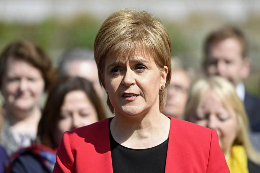 Scotland's First Minister Nicola Sturgeon says Scotland should have another chance to vote on secession.