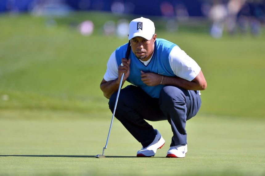 At his first PGA Tour event after a 17-month absence, at Torrey Pines in January, Tiger Woods missed the cut. He then withdrew from the Dubai Desert Classic on Feb 3 after a first-round 77.