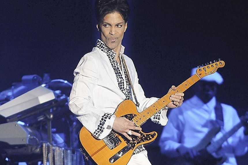 Singer Prince (above) died in April last year after an accidental opioid overdose.