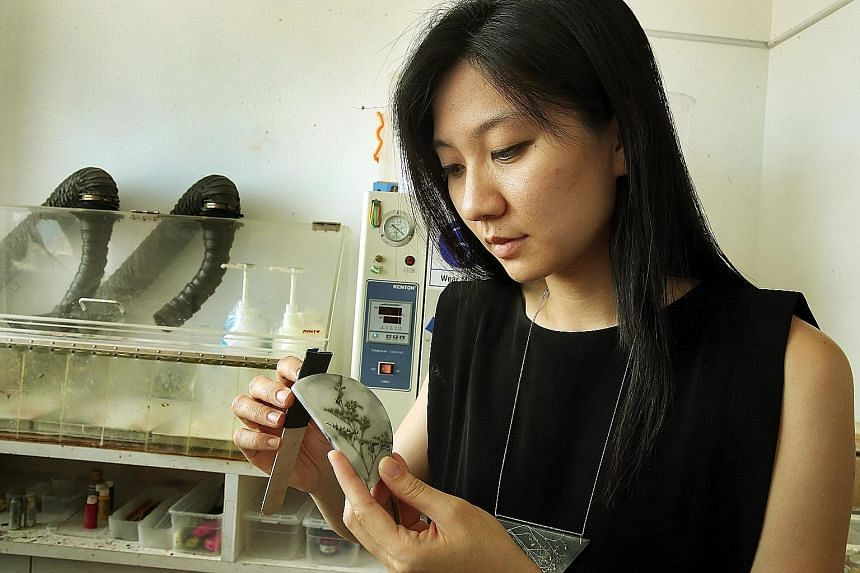 Founder of Amado Gudek Elaine Tan prefers to create unique jewellery designs. Currently, she is planning to start a new brand that focuses on producing men's cufflinks.