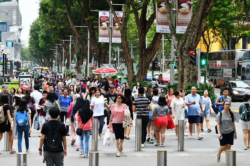 The idea of turning Singapore's popular shopping belt into a pedestrian-only thoroughfare has been mooted by various quarters time and again. But the world's top shopping streets are typically full of motorised traffic.