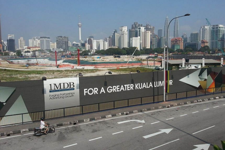 The site of the Tun Razak Exchange financial district project in Kuala Lumpur, one of the 1Malaysia Development Fund (1MDB) projects.