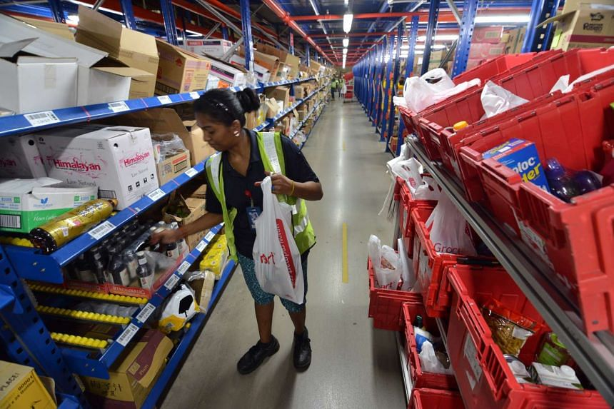 Online supermarket RedMart was introduced in Singapore five years ago.