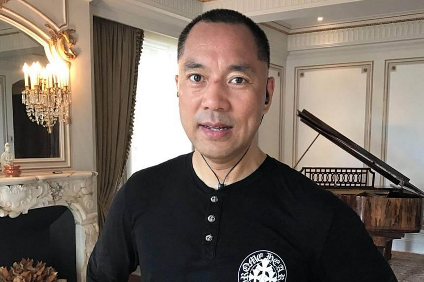 Guo Wengui is an outspoken critic of the Chinese government.