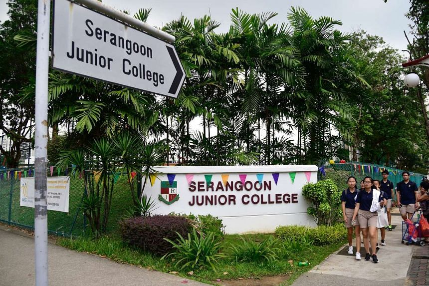 Serangoon JC is one of the 28 schools that will merge in 2019.