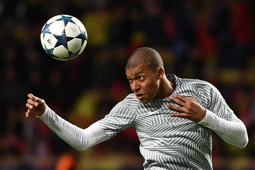 French football star Kylian Mbappe is the youngest player to net five Champions League goals.