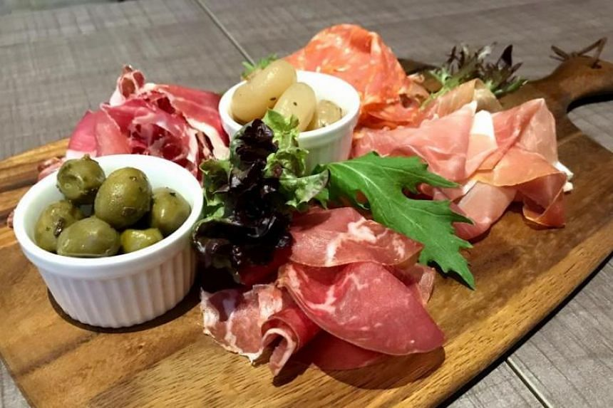 The Mixed Cold Cut Platter is good if you're just peckish or want variety. PHOTO: YEOH WEE TECK