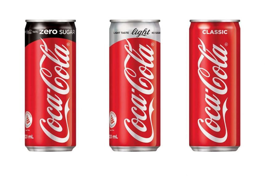Coca-cola is launching a new sugar-free flavour and new packaging for its cans in May 2017.