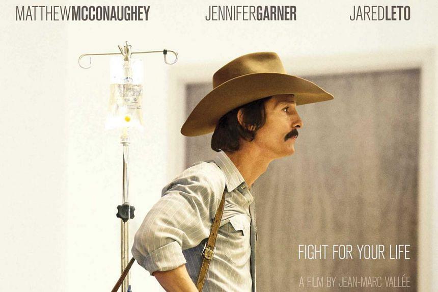 Dallas Buyers Club, starring Matthew McConaughey.