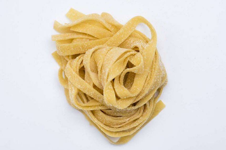 Form pasta into 85g nests and dust with semolina before cooking. PHOTO: NYTIMES
