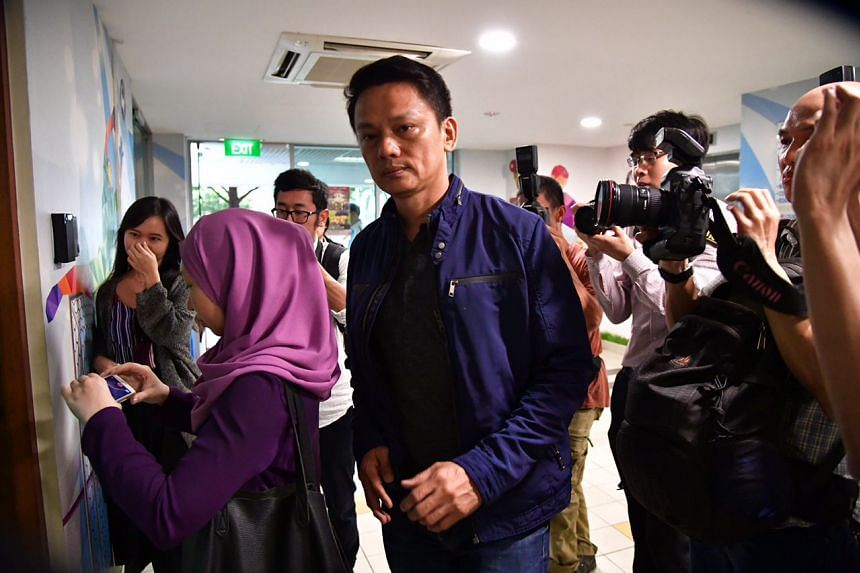 FAS general secretary Winston Lee arrived at the FAS office but did not stop to make any comments.
