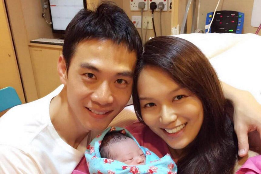 Local actors Qi Yuwu and actress Joanne Peh welcomed a baby boy on April 21, 2017.