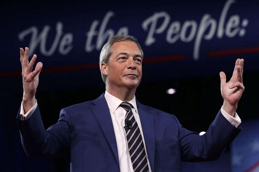 Farage (above) will travel around European cities campaigning for Britain to get a good deal in its EU divorce.