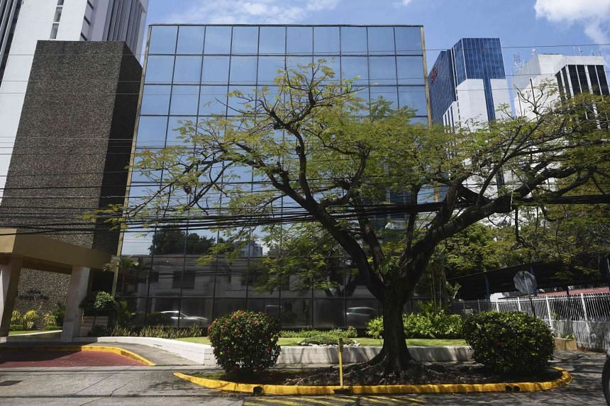 The Panama-based Mossack Fonseca law firm office.