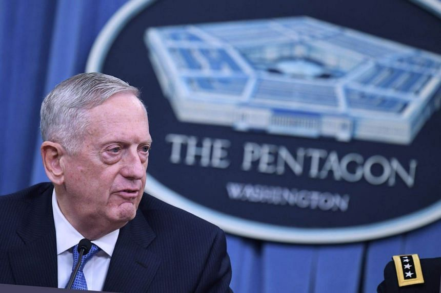 US Defence Secretary Jim Mattis has warned Syria against using chemical weapons.