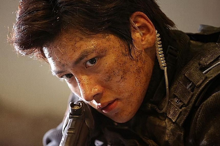 Ji Chang Wook plays a gamer who is wrongfully convicted in Fabricated City.