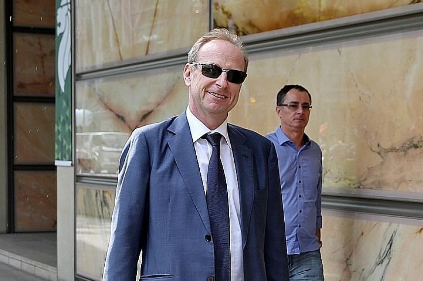 Russian billionaire Dmitry Rybolovlev (left) had brought the US$1 billion (S$1.4 billion) lawsuit against Swiss freeport magnate Yves Bouvier in March 2015 for allegedly inflating the prices of art masterpieces and pocketing the profit. Mr Bouvier ha