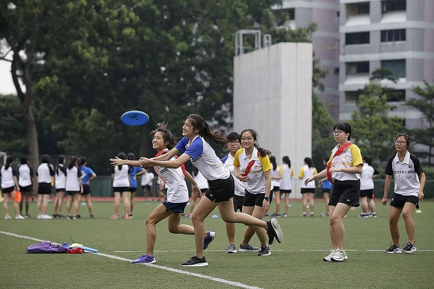 Jurong Junior College is among those affected by the mergers. Some students have concerns over whether they would get to run orientation camps as seniors next year, and wonder how team sports and uniformed co-curricular activities would be affected.