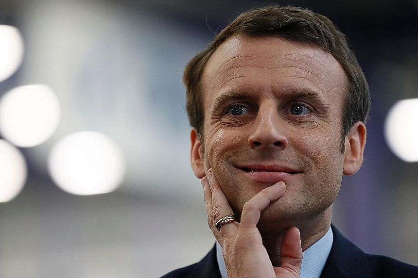 Mr Emmanuel Macron, 39, will be the youngest head of state in France since Napoleon if he wins next month.