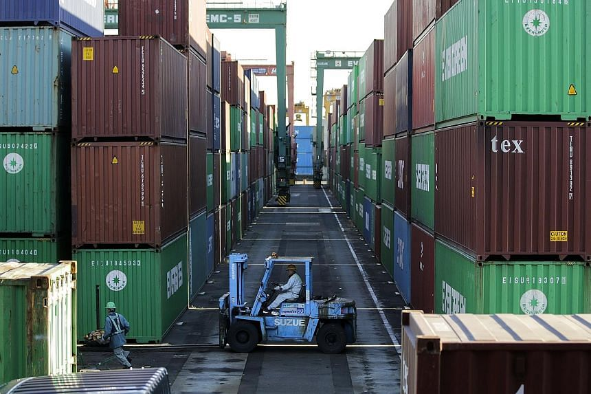 Japan's exports are expected to continue rising as global economic growth gains momentum, but concerns about the US' trade policies cloud the outlook for Japan's trade.