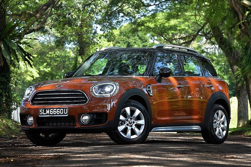 The new Mini Countryman looks more beefy and boasts a spacious boot.
