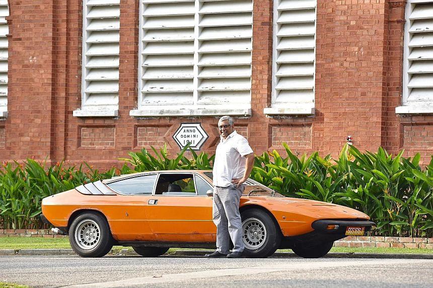Mr Kumar Balasingam bought the Lamborghini Urraco P250 in 2007 for just £17,500.