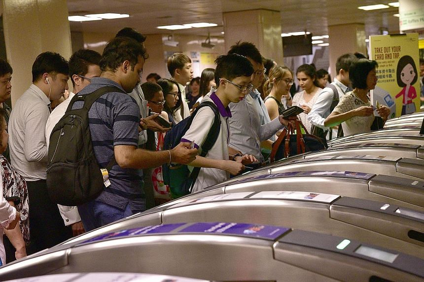 The MRT chalked up a 7.8 per cent rise to 3.1 million rides a day - the first time it has breached the three million mark. Buses posted a 1.2 per cent increase to 3.9 million rides a day. They are still the dominant form of public transport.