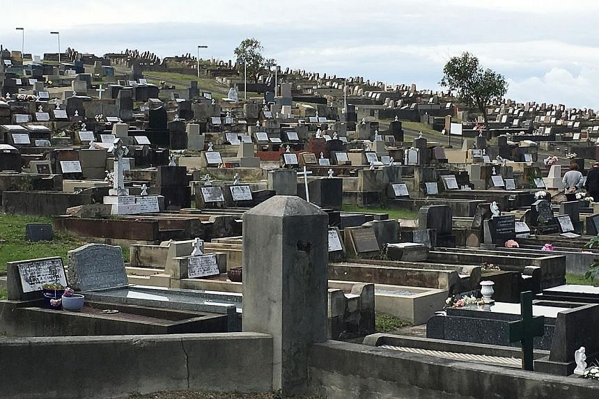 Faced with dwindling land, along with an ageing population, it is estimated that Sydney's major cemeteries will run out of space within 30 years.