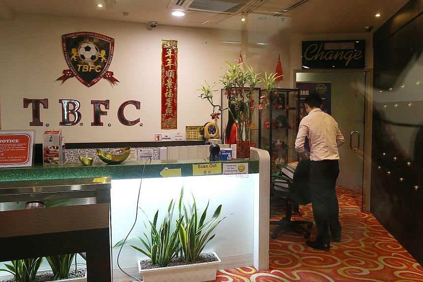 Computers and documents from the TBFC clubhouse were taken away by investigators last Thursday.